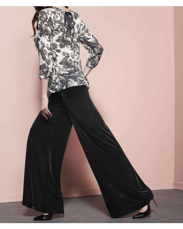 Pantalone Cecilia Oro Blu