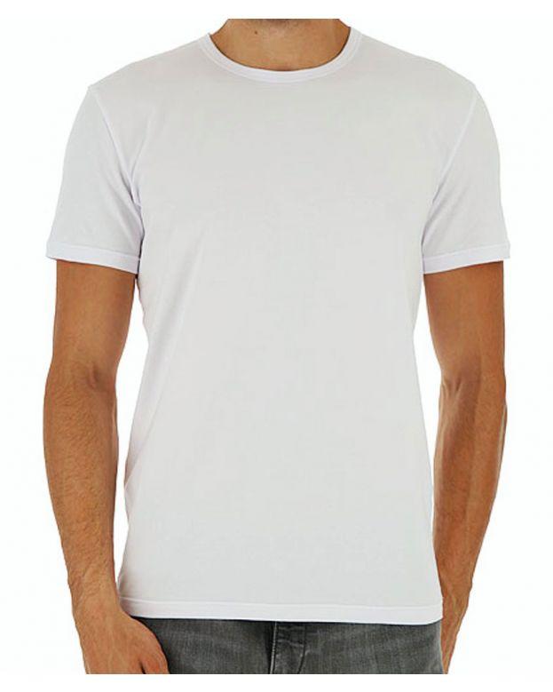 T-shirt collo tondo Moschino