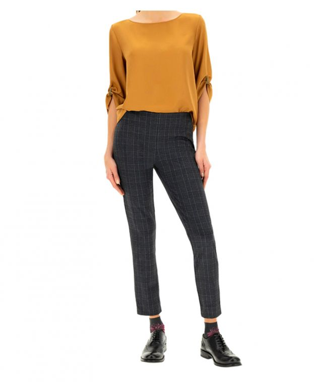 Daphne Leggings Oro Blu