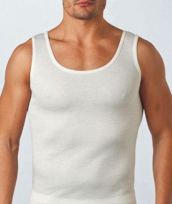 Canotta Plus Size spalla larga in cotone elasticizzato Impose