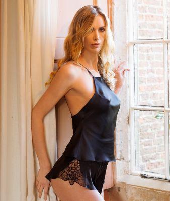 Tiffany Black pantaloncini Emma Harris